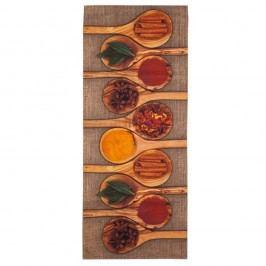 Vysoce odolný kuchyňský běhoun Webtappeti Spices,60x220cm