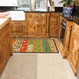 Vysoce odolný kuchyňský koberec Webtapetti Potpourri,60x240cm