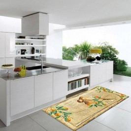 Vysoce odolný kuchyňský koberec Webtappeti Bon Appetit,60 x 115cm