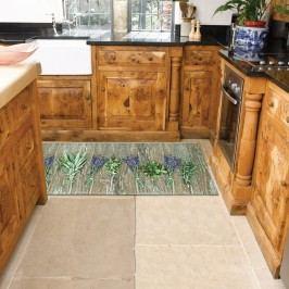 Vysoce odolný kuchyňský běhoun Webtappeti Lavender,60 x 240cm