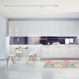 Vysoce odolný kuchyňský koberec Webtapetti Bluerose,60x240cm