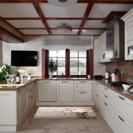 Vysoce odolný kuchyňský koberec Floorita Bouquet,60x190cm