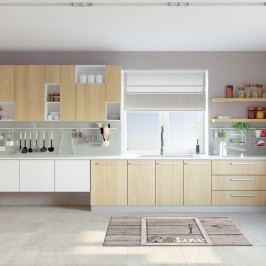 Vysoce odolný kuchyňský koberec Webtappeti Keylove,60x140cm
