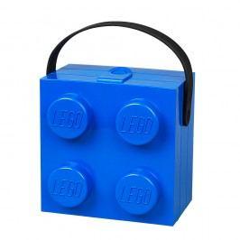 Modrý úložný box s rukojetí LEGO®