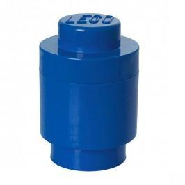 Modrý úložný kulatý box LEGO®