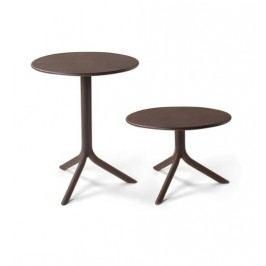 Hnědý nastavitelný zahradní stolek Nardi Garden Step