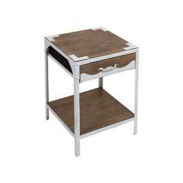 Odkládací stolek s detaily z jedlového dřeva SSantiago Pons Vintage