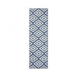 Modro-bílý běhoun Hanse Home Jenny, 80 x 350 cm