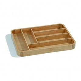 Bambusový úložný box na příbory Kosova Light, 40x30,2cm