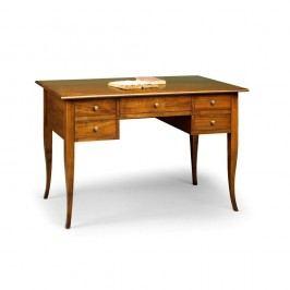 Dřevěný pracovní stůl s 5 zásuvkami Castagnetti Scrivere