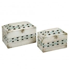 Sada 2 úložných boxů Santiago Pons Antique