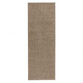 Béžový běhoun Hanse Home Pure, 80x400cm