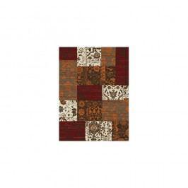 Hnědo-červený běhoun Hanse Home Prime Pile, 80x150cm