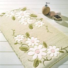 Béžová koupelnová předložka Confetti Bathmats Margherita, 80x140cm