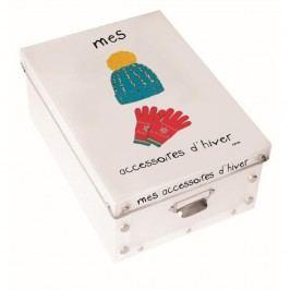 Úložný box na zimní doplňky Incidence Mes Accesoires D'Hiver