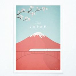 Plakát Travelposter Japan, A2