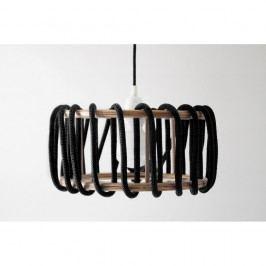 Černé stropní svítidlo EMKO Macaron, 30 cm