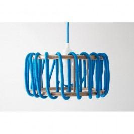 Modré stropní svítidlo EMKO Macaron, 30 cm