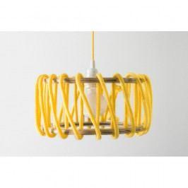 Žluté stropní svítidlo EMKO Macaron, 30 cm
