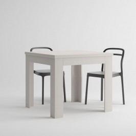 Bílý rozkládací jídelní stůl MobiliFiver Eldorado, délka90-180cm