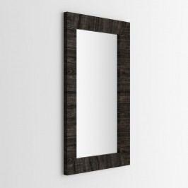 Zrcadlo v dekoru hnědého dubu MobiliFiver Giuditta, 65x110cm