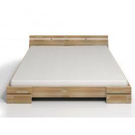 Dvoulůžková postel z bukového dřeva SKANDICA Sparta, 140x200cm