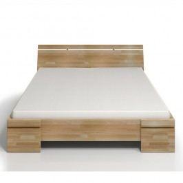 Dvoulůžková postel z bukového dřeva SKANDICA Sparta Maxi, 140x200cm