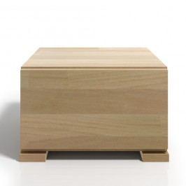 Noční stolek z bukového dřeva se zásuvkou SKANDICA Vestre