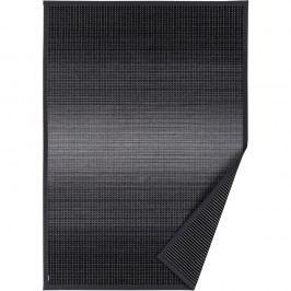 Antracitově šedý vzorovaný oboustranný koberec Narma Moka, 160x230cm