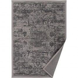 Šedobéžový vzorovaný oboustranný koberec Narma Palmse, 160 x 230cm
