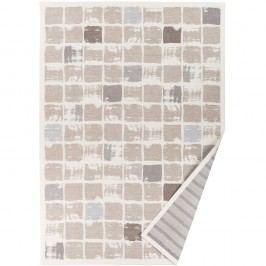 Béžový vzorovaný oboustranný koberec Narma Telise, 160x230cm