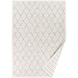Bílý vzorovaný oboustranný koberec Narma Vao, 70 x 140cm