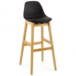 Černá barová židle Kokoon Design Elody