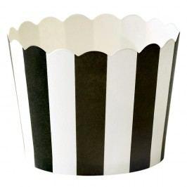 Sada 24 papírových pečicích košíčků Miss Étoile Stripe