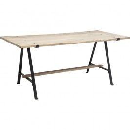Jídelní stůl s deskou z mangového dřeva Kare Design Scissors, 180x90cm