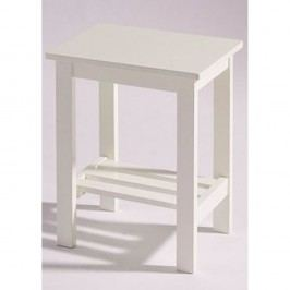 Bílý noční stolek Støraa Trento