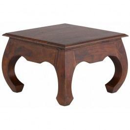 Hnědý konferenční stolek Støraa Kusuma, 60x60cm