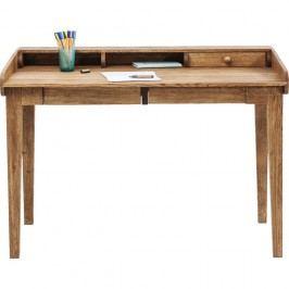 Pracovní stůl z masivního dubového dřeva Kare Design Attento