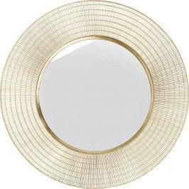 Zrcadlo Kare Design Nimbus Messing,ø90cm