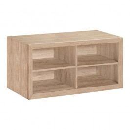 Dřevěná lavice s úložným prostorem Støraa Napoli