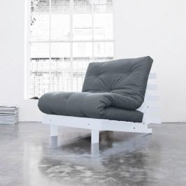 Variabilní křeslo Karup Design Roots White/Grey