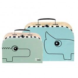 Sada 2 kufříků Done by Deer Suitcase