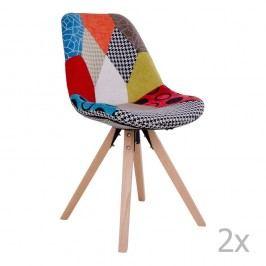 Sada 2 židlí House Nordic Sanvik