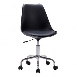 Sada 2 černých kancelářských židlí House Nordic Stavanger