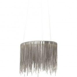 Stropní LED svítidlo ve stříbrné barvě Kare Design Fallen Chains Round