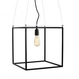 Černé závěsné světlo Custom Form Metric