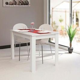 Bílý jídelní stůl Symbiosis Nice