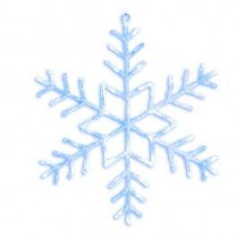 Svítící LED dekorace Best Season Merry Snowflake, Ø 80 cm