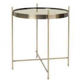 Příruční stolek ve zlaté barvě Zuiver Cupid, ø 43 cm