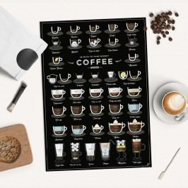 Plakát Follygraph 38 Ways To Make Perfect Coffee, 42x59,4 cm